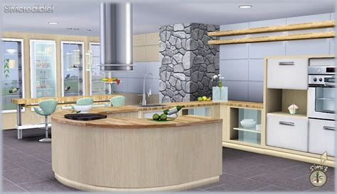 sims kitchen ideas my sims 3 audacis kitchen set by simcredible designs