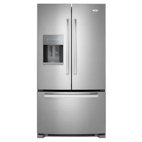 door refrigerator bottom freezer whirlpool gold gi6farxxy 25 5 cu ft door