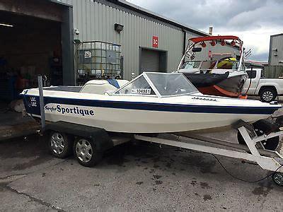 wakeboard boat on trailer sportique 16 waterski wakeboard boat w trailer malibu