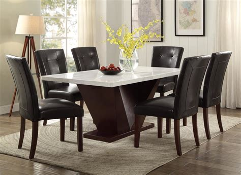 white marble dining table and chairs cheap dinner table set dining tables dining table