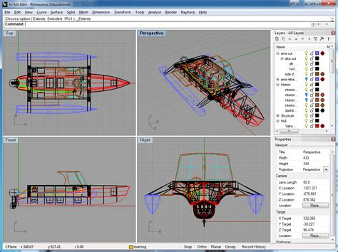 layout rhino user interface done right mcneel rhinoceros 3d thoughts