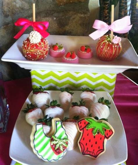 Baby Shower Strawberries by Strawberry Themed Baby Shower Baby Shower Ideas Themes