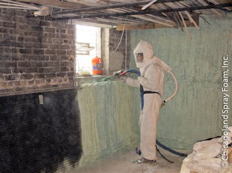 spray foam insulation basement walls closed cell insulation basement waterproofing mold