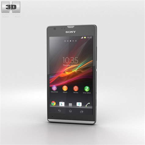 sony xperia sp sony xperia sp 3d model humster3d