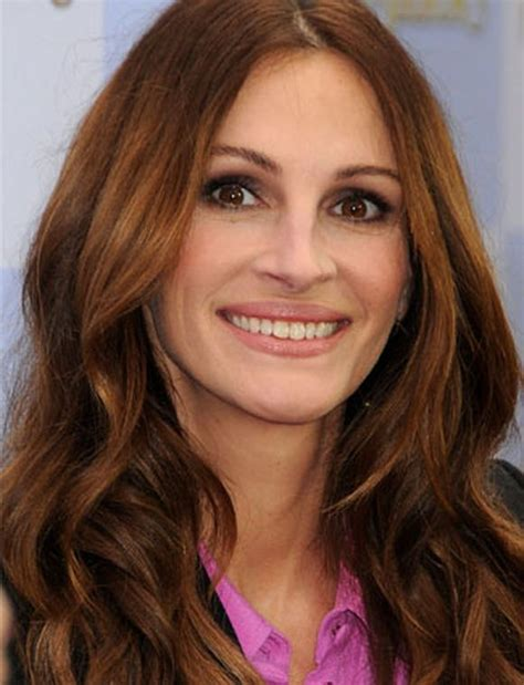 julia roberts red hair top redhead hairstyles 2013 stylish celebrity red hair