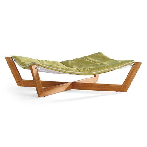 dog hammock bed bambu pet hammock the green head