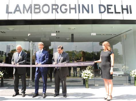 Lamborghini Showroom In India Lamborghini India Opens New Showroom In New Delhi
