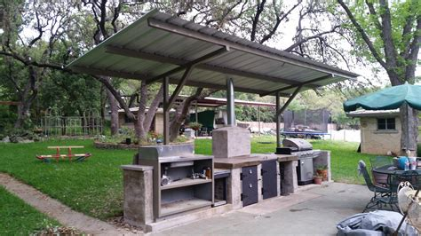 Cantilever Barbecue Cover San Antonio   Carport Patio