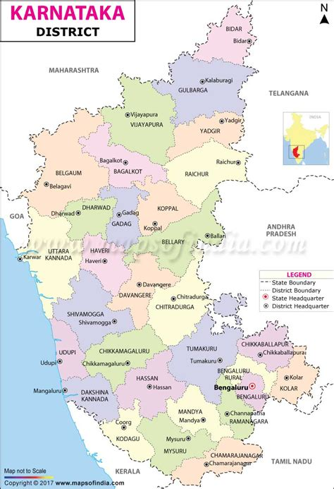 Karnataka District Map Outline by Which State Are You From Page 2 Indian Defence Forum