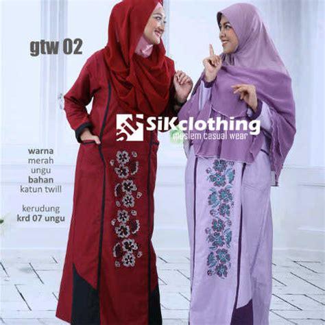 Gamis Sik Chloting katalog gamis katun twill sik clothing terbaru 2014 sik
