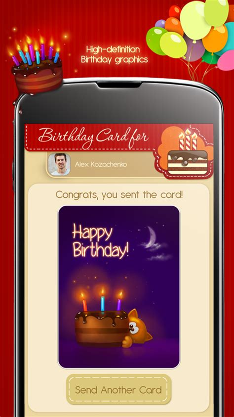 App For Birthday Cards Free Birthday Cards Android Apps On Google Play