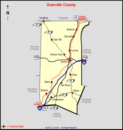 Granville County Records Granville County Carolina