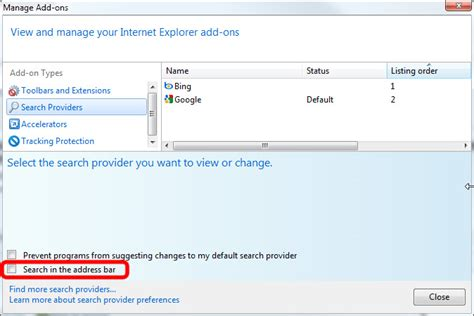internet explorer search box image gallery ie9 search box missing