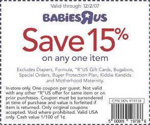 free printable babies r us coupon november 2017