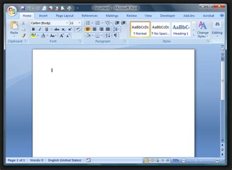 Microsoft Office Word 2007 Explore The New Word 2007 Interface