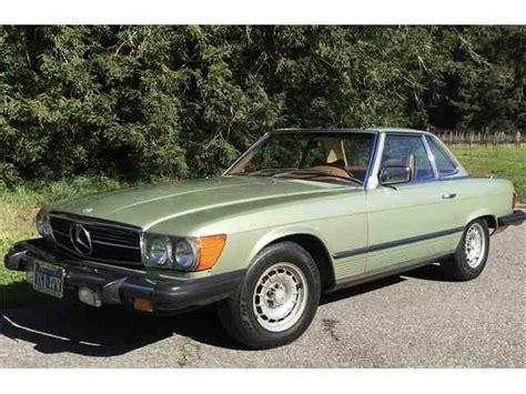 1979 mercedes 450sl for sale 1979 mercedes 450sl for sale on classiccars