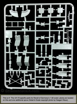 section 72a detail scale kit review revell of germany uh 72a