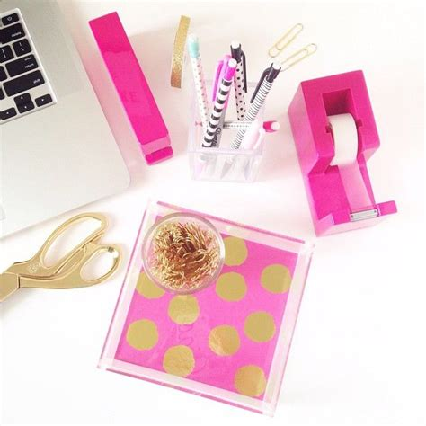 Office Supplies Girly 17 Best Ideas About Gold Office Supplies On