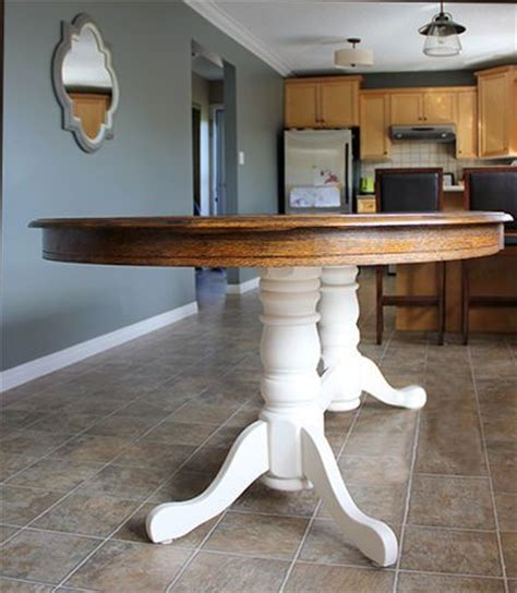 Restain Dining Table 78 Best Ideas About Oak Table On Pinterest Dining Table Chairs White Chairs And Oak Table And