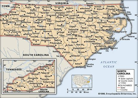 carolina cities map 302 found
