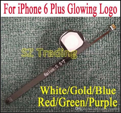 Iphone 6 6 Glowing Logo for iphone 6 plus flashlight glowing logo diy luminescent