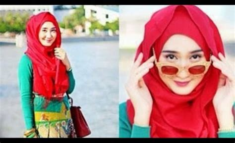 Cara Membentuk Segi Empat cara membentuk jilbab yang mudah cara memakai jilbab