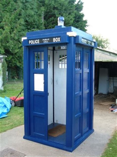 Tardis Shed For Sale by Do It Yourself Gazebo Plans Plans To Build A Tardis Shed