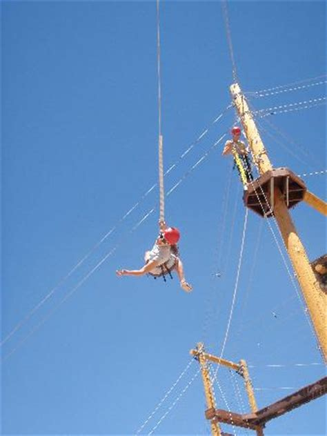 giant rope swing rope crossing picture of adventure park moab moab