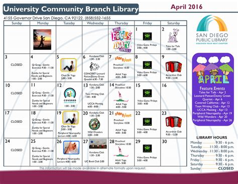 fcpl news and special events library community branch library on governor april highlights