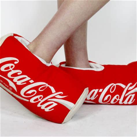coca cola slippers coke slippers coca cola shoes from luck vintage
