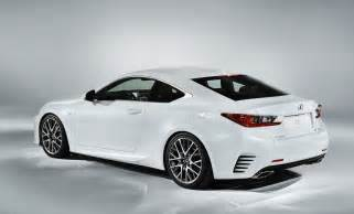 Lexus If Sport 2015 Lexus Rc 350 F Sport Revealed With Gt3 Concept