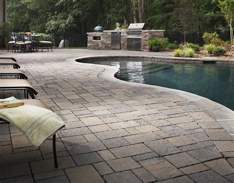 pool deck pavers tips for landscaping near swimming pools install it direct