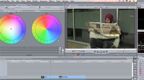 final cut pro white balance final cut pro tutorial basic color correction white