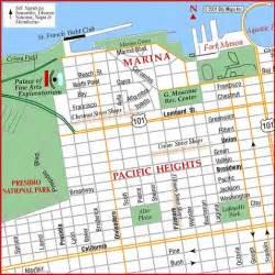 san francisco map marina district road map of san francisco marina district san francisco california aaccessmaps