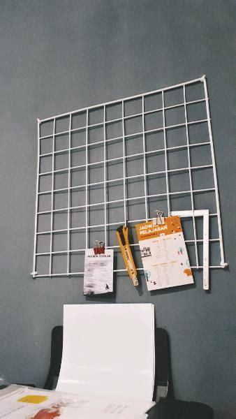 Kawat Ram Tebal Jual Wire Grid Kawat Ram Tebal Untuk Hiasan Dinding Berwarna Putih Di Lapak Alauddin Adiwijaya