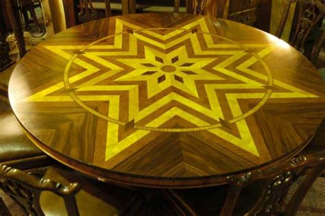 6ft round dining table 6ft art deco inlay round dining table tables