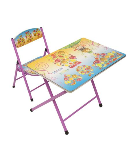 foldable study table and chair happy foldable study table and chair fruits buy