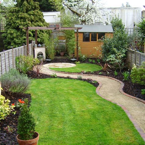 Ideas For Small Gardens Uk Small Garden Ideas With Aromatic Herbs Planting