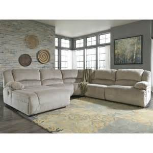 homestretch reclining sofa signature design by ashley toletta granite power reclining sectional with left press back