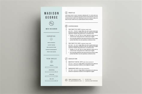 First Job Resumes by 10 Great Minimal Design Cv Designs