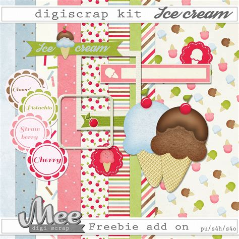 Digital Scrapbooking Wiki Launches 3 by Mee Scrapbook Kits Free