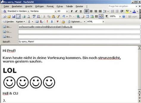 Wie Gibt Maße An by Wie Schreibt Korrekt Eine Email Freiburg Fudder De