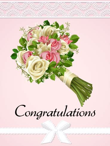 Congratulations Flowers by Flower Wreath Congratulations Card Birthday Greeting