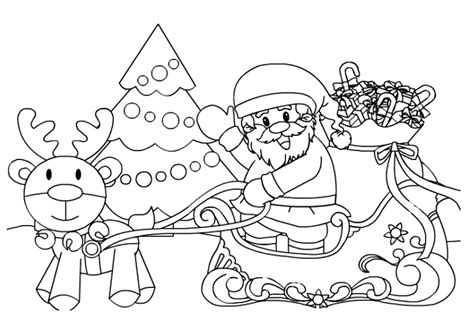 pintar regalos reyes magos papa noel colorear y pintar dibujos de navidad para colorear im 225 genes navidad para