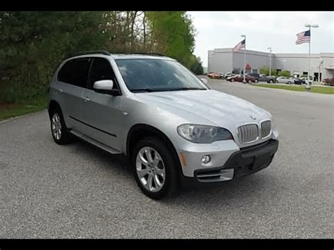 how cars engines work 2009 bmw x5 regenerative braking 2007 bmw x5 4 8i awd silver 3rd row seat used bmw dealer 18328a youtube