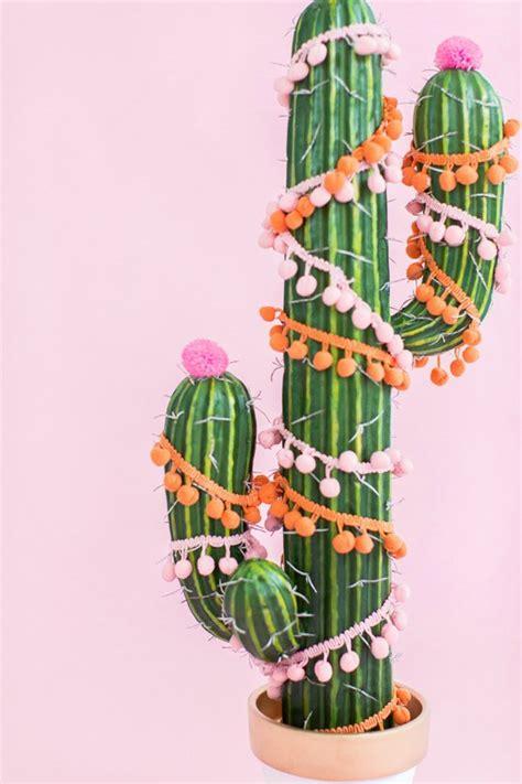 diy christmas tree cactus sugar cloth