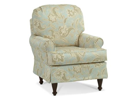 Accent Chair Slipcover Custom Slipcovered Accent Chair Centerville Slipcover Chairs Chairs Living Room