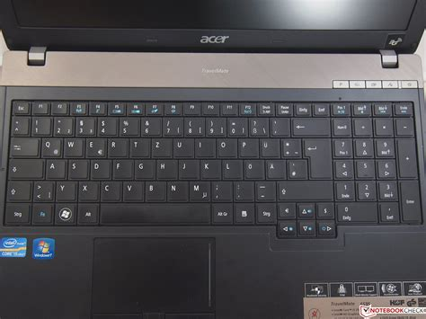 Keyboard Notebook Acer Travelmate 8371 review acer travelmate 6595 2524g50mikk notebook notebookcheck net reviews
