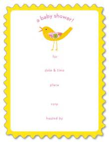 blank baby shower invitations 11 baby shower themes