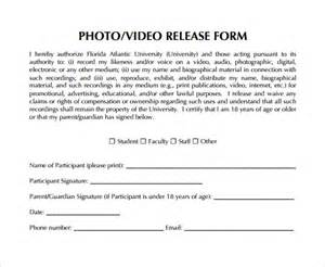 photography waiver and release form template release form 8 sles exles format